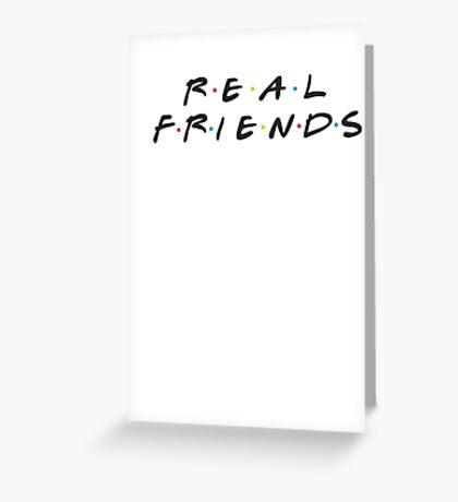 Real Friends - Kanye Greeting Card