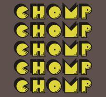 Chomp Chomp Chomp T Shirt by bitsnbobs