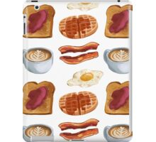 breakfast foods iPad Case/Skin