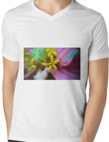 Stamen Star Mens V-Neck T-Shirt