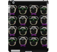 """""""Cool Pugs"""" purple/green iPad Case/Skin"""