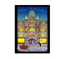 The Arcade in Color Art Print