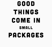 Good Things / Small Packages Funny Quote Women's Tank Top