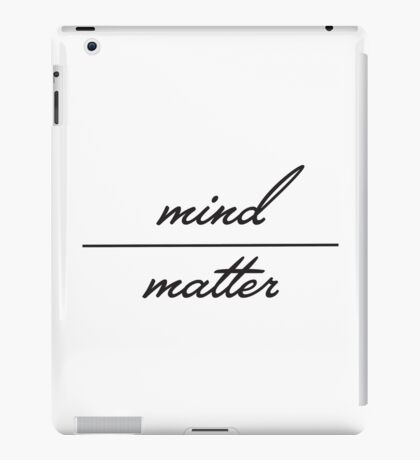 Young the Giant Mind Over Matter iPad Case/Skin