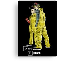 One Punch Canvas Print