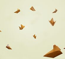 Paper Boats by doodledork