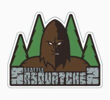 Seattle Sasquatches Baby Tee