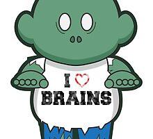 I <3 Brains by acarsondesign
