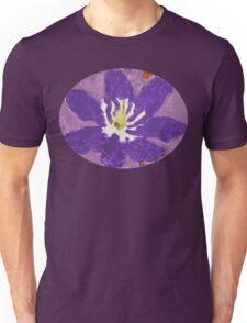 Impressionist Purple Lily Flower Unisex T-Shirt