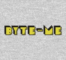 Retro Gaming Byte Me T Shirt One Piece - Long Sleeve