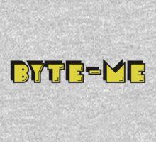 Retro Gaming Byte Me T Shirt Kids Tee