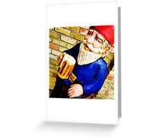 Happy Gnome Greeting Card