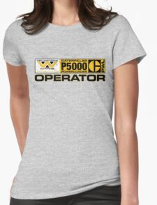 Powerloader Operator Womens Fitted T-Shirt