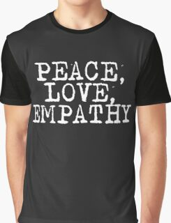 Peace Love Empathy Grunge T Shirt Graphic T-Shirt