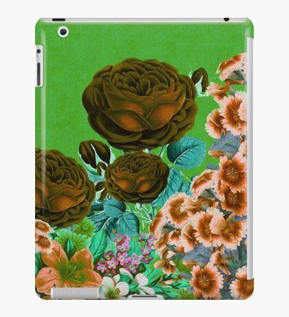 Beautiful Earth Tone Floral Abstract  iPad Case/Skin
