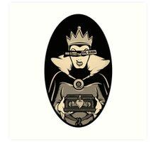 God Save The Evil Queen Art Print
