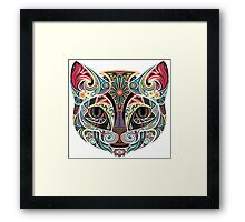 Zorro the Cat Framed Print