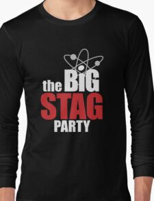 the Big Stag Party - white Long Sleeve T-Shirt