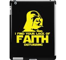 "Vader ""Lack of Faith"" iPad Case/Skin"