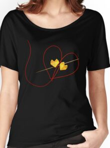 Red String of Fate Women's Relaxed Fit T-Shirt