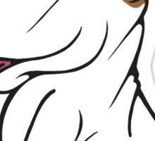 Mini Bull Terrier Lola  Sticker