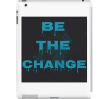 Flat earth real truth time for change iPad Case/Skin