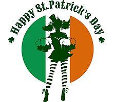 Saint Patricks Day Party Design Photographic Print