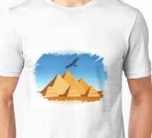 Pyramid  Egypt travel template Unisex T-Shirt
