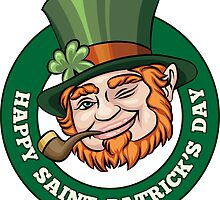 Saintt Patricks Day Badge by devaleta
