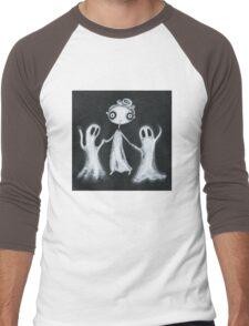Walking the Ghosts Men's Baseball ¾ T-Shirt