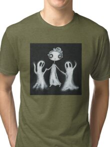 Walking the Ghosts Tri-blend T-Shirt