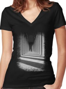 Colonnade Women's Fitted V-Neck T-Shirt
