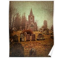 At Evergreen Cemetery Poster