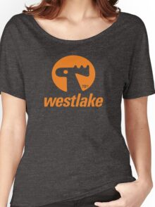 Orange Elk Logo T-Shirt Women's Relaxed Fit T-Shirt