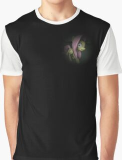 Frightened Fluttershy - MLP:FiM Graphic T-Shirt