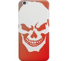 Menacing Skull iPhone Case/Skin
