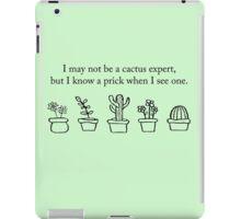 Cactus Expert iPad Case/Skin