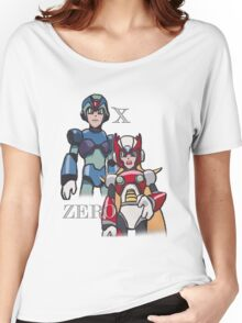Mega Man X and Zero Women's Relaxed Fit T-Shirt