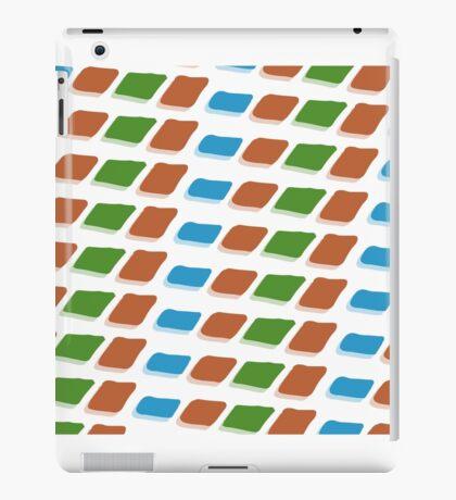 BIT SQUARES iPad Case/Skin