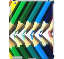 Colored Pencil Angles iPad Case/Skin