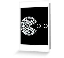 Pac robot parts Greeting Card