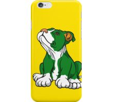 Irish American Bull Terrier Pup iPhone Case/Skin