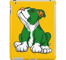 Irish American Bull Terrier Pup iPad Case/Skin