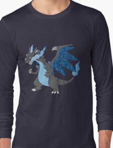 Pokemon  Charizard Mega evolution X Long Sleeve T-Shirt