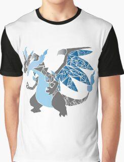 Pokemon  Charizard Mega evolution X Graphic T-Shirt
