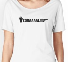 The Walking Dead - CORAAAAL!!! Women's Relaxed Fit T-Shirt