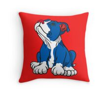 American Pit Bull Puppy  Throw Pillow
