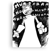 Doctor Horrible - Non Transparent Evil Laugh Canvas Print