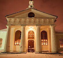 A Greek Temple or a Swedish Church? by Kristin Repsher