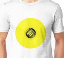 Record Man in Yellow Unisex T-Shirt